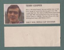 England Terry Cooper Leeds United DM70